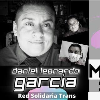 Daniel Leonardo García Salinas de Red Solidaria Trans.