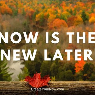 1368 NOW is the New Later!