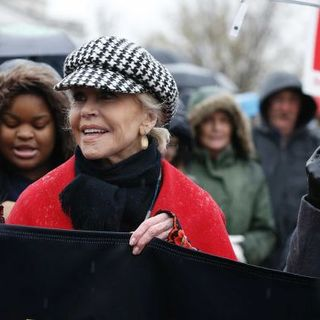 Jane Fonda - writing her own script