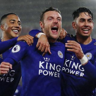 Leicester demolish Saints to equal PL record!