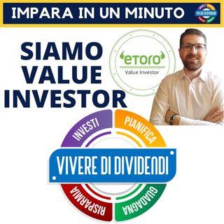 1 SU 100 - CERTIFICAZIONE UFFICIALE VALUE INVESTOR - eToro popular investor #shorts