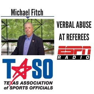 Verbal Abuse at Referees    Michael Fitch Discusses LIVE (6/22/18)