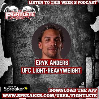 Eryk Anders UFC236 Pre Fight Interview