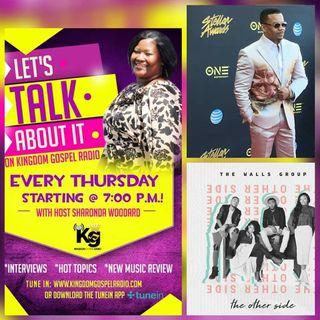 The Walls Group & Lonnie Hunter On Kingdom Gospel Radio!