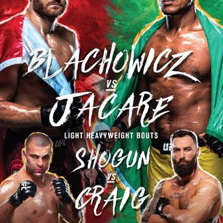 Preview Of The UFCONESPN Card In Brazil Headlined By Jan Blachowicz-Ronaldo Jacare Souza In Light-Heavyweight Division In Sao Paulo!!