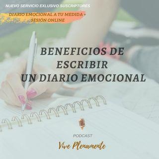 Beneficios de escribir un diario emocional