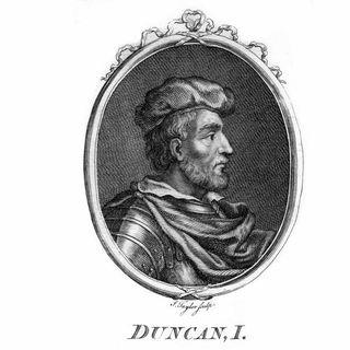 Macbeth tötet den schottischen König Duncan (am 14.08.1040)
