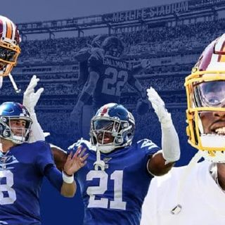 Giants Beatdown Red(Crock)skins #JabrilPeppers #JackrabbitJenkins #RyanConelly #DanielJones #WayneGallman Stars of the Game Vikings Next