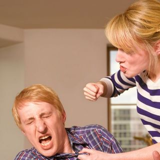 Domestic Abuse - When a woman beats up a man