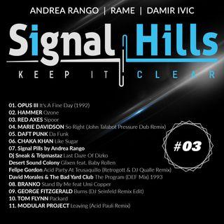 Signal Hills #3 Domenica 7 /10 /2018
