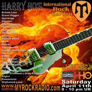 Harry Ho's intern. Rock Garden 11.04.2020