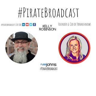 Catch Kelly Robinson on the PirateBroadcast