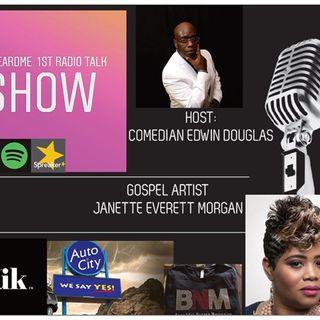 Uheardme 1ST RADIO TALK SHOW- Gospel Artist -Janette Everett Morgan