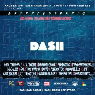 [10/16] @Dash_Radio #XXL : #GryndfestRadio #TakerOver Guest Djs Vol 44rd #dinnerland #theearplugs