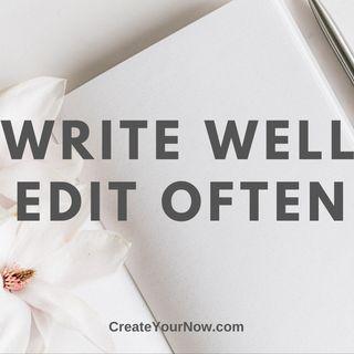 1986 Write Well, Edit Often