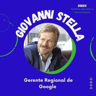 En primera fila con Giovanni Stella, Gerente Regional de Google