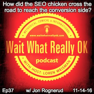How did the seo chicken cross the road to reach the conversion side?