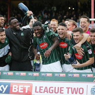 Plymouth Argyle finish the season in second place as they draw 1-1 with Grimsby Town