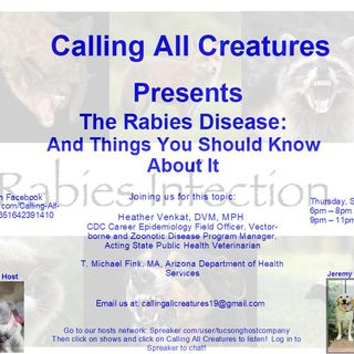Calling All Creatures with guest Heather Venkat, DVM, MPH