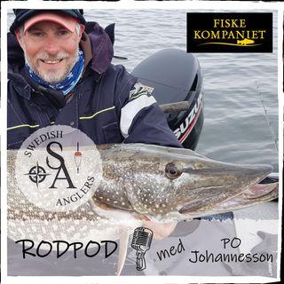 Swedish Anglers RodPod avsnitt 23 med PO Johannesson