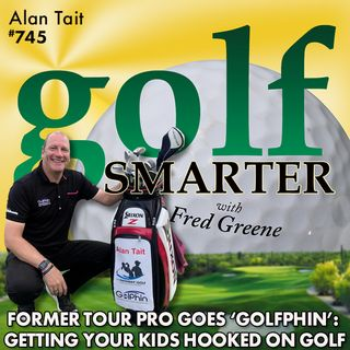 "Former Tour Pro Shares Stories and Intros ""Golphin"" to Get Kids Hooked on Golf with Alan Tait"