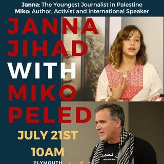 10am-Service with Janna Jihad & Miko Peled & Rev. Graylan Scott Hagler