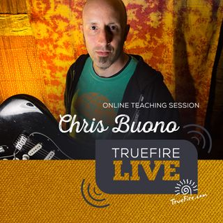 Chris Buono - Sight Reading Guitar Lessons, Q&A, and Performance
