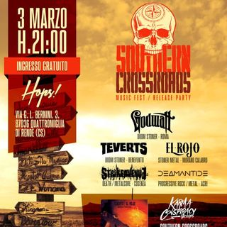 Mightallurgia Pesante presenta: Southern Crossroads Release Party