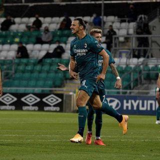 Calcio, Europa League: il Milan di Ibra supera il preliminare battendo i modesti irlandesi dello Shamrock Rovers