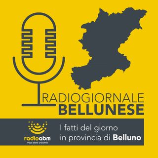 Radiogiornale bellunese del 09.10.2018