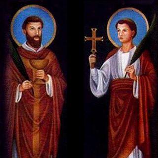 Santos Marcelino y Pedro, mártires