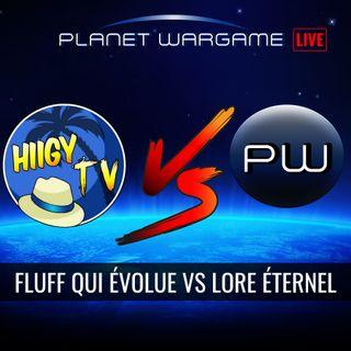 Fluff qui évolue vs Lore éternel avec Hiigy tv