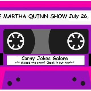 The Martha Quinn Show-Corny Jokes Galore, Jeeps & Weekend Fun