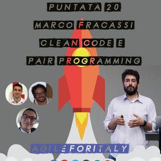 20. Summer Lean Beer - Marco Fracassi, Clean Code e Pair Programming - Agile Venture Vimercate 2019