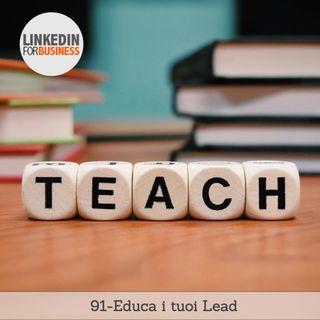 91-educa, istruisci i tuoi Lead