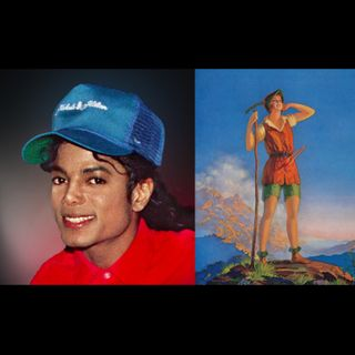 Michael Jackson & Peter Pan 9:6:21 6.58PM