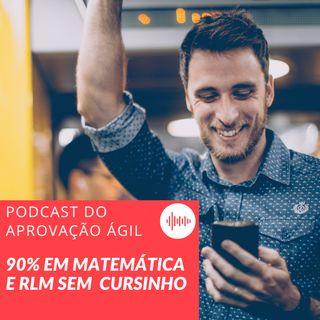 #27 - Como acertar 90% em matemática e RLM para concursos SEM CURSINHO