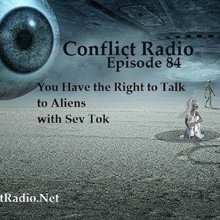 Episode 84  You Have the Right to Talk to Aliens with Sev Tok
