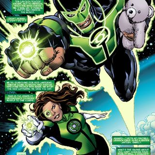 Green Lantern- Jessica Cruz and Simon Baz
