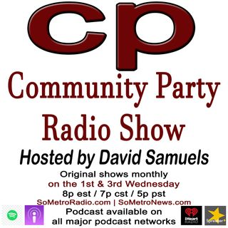 CPR hosted by David Samuels Show 105 Nov 7-Special report. Race for the White House: A Police Accountability Discussion with Howie Hawkins