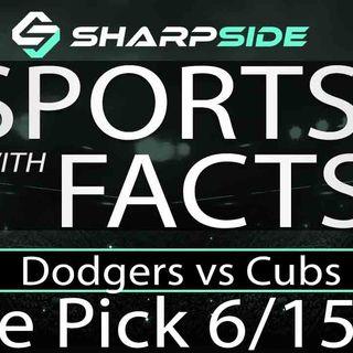 FREE MLB Sunday Night Baseball Betting Pick: Dodgers vs. Cubs - June 16