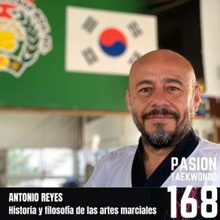 """Antonio Reyes """"Filosofía de las artes marciales"""""""