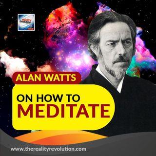 Alan Watts On How To Meditate
