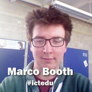 Marco Booth at #ictedu