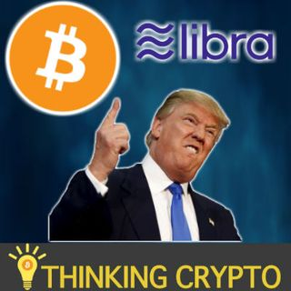 PRESIDENT TRUMP TWEETS ABOUT BITCOIN & FACEBOOK LIBRA! - Ripple CEO FCA Ethereum & XRP - Fold BTC LN