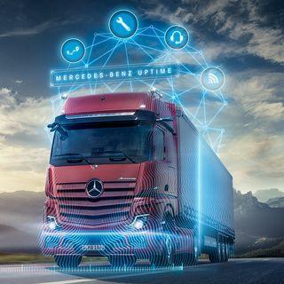 Tutti i vantaggi di un camion connesso