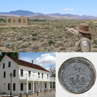 Pony Express History at Fort Churchill - Kristin Sanderson on Big Blend Radio