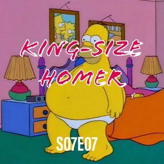 101) S07E07 (King-Size Homer)