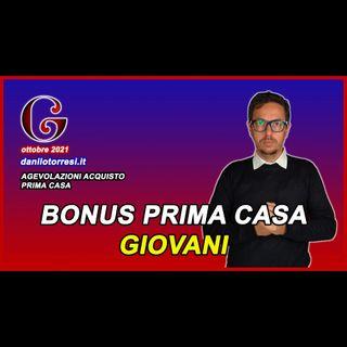 BONUS ACQUISTO PRIMA CASA giovani under 36