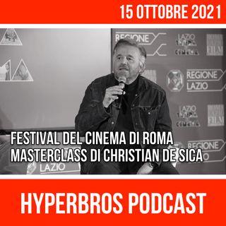 Festival del Cinema di Roma, Masterclass di Christian De Sica